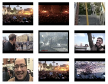A collection of eyewitness images document the 2011 Egyptian Revolution