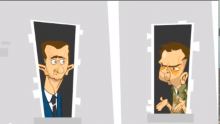 Comical animation about the Syrian regime: The Presidential Palace