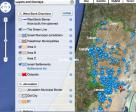 A phone app which allowed the monitoring of Israeli settlements by Facts on the Ground and Americans for Peace Now (APN)
