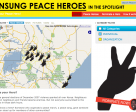 Unsung Peace Heroes honoured key people working on post election peace efforts in Kenya who were selected by people through crowdsourcing